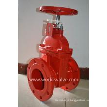 Válvula de porta de ferro dúctil com indicador de posição (Z45X-10/16)