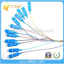 Singlemode SC/upc Fiber Optical Pigtail 0.9mm,PVC/LSZH