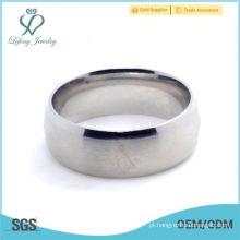 Anéis maçônicos prateados para mulheres / homens