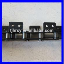 C2050 cadeia de rolos de transporte de dois passos com fixação A2