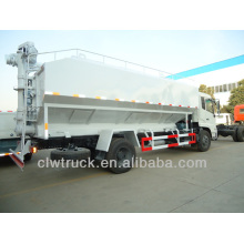 4x2 dongfeng camiones de descarga de alimentación a granel