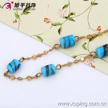 Xuping Мода Multicolor с цилиндром ожерелье украшения (42466)