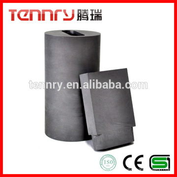 Gold Melting High Strength Low Ash Carbon Graphite Crucibles for Sale