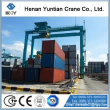 Rubber Tire Container Gantry Cranes /gantry crane design drawing/container gantry cranes