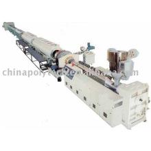 Suministro de gas y suministro de agua de polietileno de alta densidad extrusión tubería