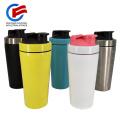 Metal Shaker Bottle Mixer Protein Shaker Fitness Bottle for Gym
