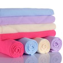 Wholesale Microfiber Warp Knitted Towels with Mesh Bag