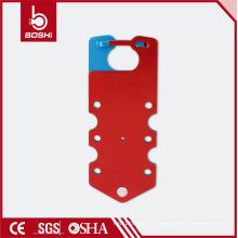 BOSHI BD-K53 haste de bloqueio de alumínio com 7 buracos, gravado em gravata com haste
