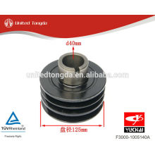 YUCHAI engine YC4F crankshaft pulley F3000-1005140A