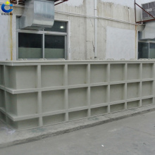 Pp material anti-corrosion water tank production