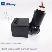 Time Delay Microwave Sensor For LED Floodlight