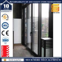Four Panels Patio Sliding Aluminum Door