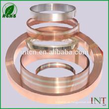 Silber plattierte Kupfer Bimetall-Streifen