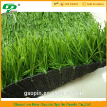 anti UV long two color PE artificial grass for soccer