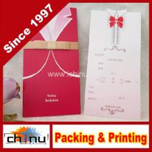 Cartão do casamento / aniversário / Natal (3341)