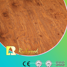 Household 12.3mm High Gloss Maple Waxed Edged Laminated Floor