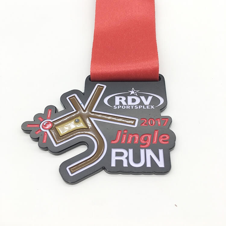 Custom Good Quality Sport Medal with Soft Enamel