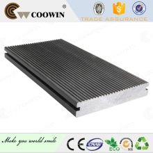 Solid groove bule grey terrace floor tile decking composite