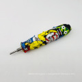 Silicone honey straw titanium nail smoking pipe straw concentrate wax rolling rig  smoking pipe