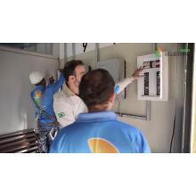 Venta caliente de Bluesun 10000 vatios del sistema eléctrico solar del sistema 10kw del panel solar para la casa
