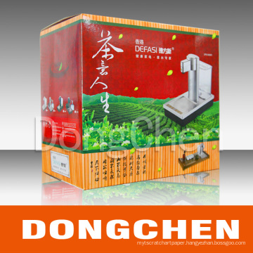 Printed Flute Paper Box/Gift Box/Packaging Box (DC-BOX021)
