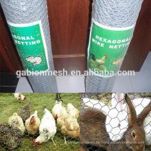 Anping Sechskant-Maschendraht für Huhn mit niedrigem Preis / billig Hühnchen Maschendraht