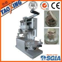 Máquina de impresión sellada manual de la almohadilla de la taza de la tinta