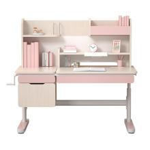 Conjuntos de móveis infantis ajustáveis, mesas de leitura infantil