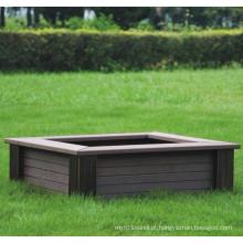 High Quanlity Plástico de madeira Composto / WPC Flower Box610 * 610 * 220