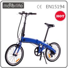 MOTORLIFE / OEM marca ligera bicicleta plegable eléctrica 20 kenda 4 bicicleta plegable eléctrica