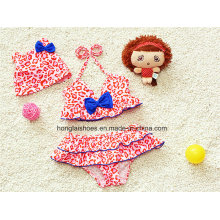 Red Little Girls Kids Colorful Swimwear