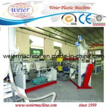 Machine d'extrusion de coextrusion en plastique