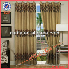 On Sale!2 Layers!Embroidered High Quality Readymade Sheer Curtain