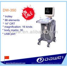 Trolley voll digitaler Ultraschall mit 14-Zoll-CRT-Bildschirm