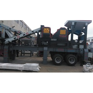 Mobile Impact Crushing Plant À Vendre
