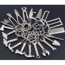 Мини-инструмент OEM металл творческий Брелок Брелок кольцо цепи