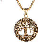 Christian Tree Of Life Bronze Pendant Necklace
