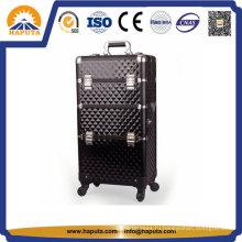 Косметический чемодан, Косметический чемоданчик, Алюминиевый чемодан на тележке