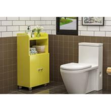 Equipment Drawer Wood Bathroom Storage Cabinets