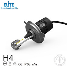 La lámpara llevada h4 del coche de la luz del frente b6 de la aprobación del CE Rohs llevó el bulbo del faro