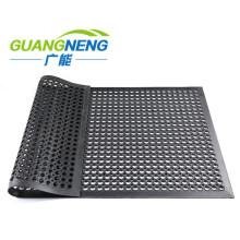 Drainage Rubber Mat, Anti-Slip Kitchen Mat