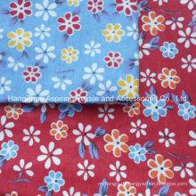 100% Baumwolle 20 * 10 40 * 42 Heißer Verkaufs-Baumwolle gedruckter Flanell gesteppter Stoff für Baby