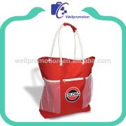 Wholesale cheap big beach bag laminated