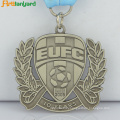 Customized Sports Antique Brass Metal Medal
