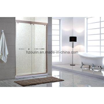 Écran de porte de boîtier de salle de douche simple (SS-102)
