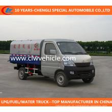 Caminhão de lixo pequeno de Changan Caminhão de lixo pequeno de caminhão esperto