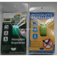 Pulsera repelente de mosquitos de silicona Natural eficaz