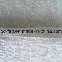 71% Coton26% Nylon3% Tissu Jacquard Spandex Comme Dentelle (QF16-2510)