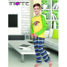 Miorre OEM Kid's Boy Cartoon Animal Designed Sleepwear Pajamas Set