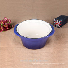 hot sale new product big size cast iron stocking pot